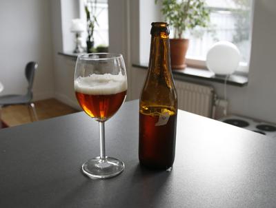 Joel Börjessons officiella öl.