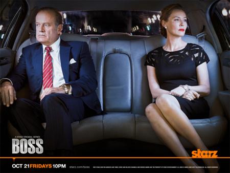 Kelsey Grammar och Connie Nielsen i Boss