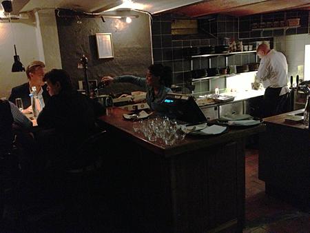 Kallköket och den nya baren
