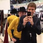 Jag och Joel shoppar på HM. Broin' out!