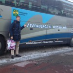 Åtvidabergs buss vid Cityterminalen