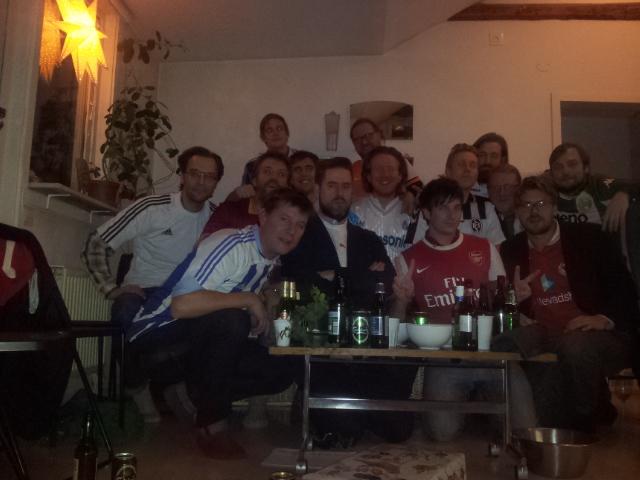 Hela Fussball-lovers-gänget