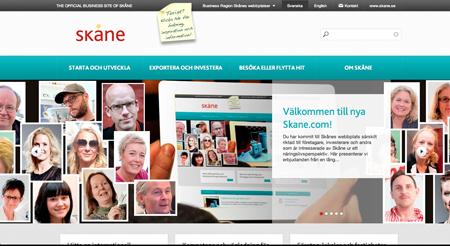 Nya skane.com