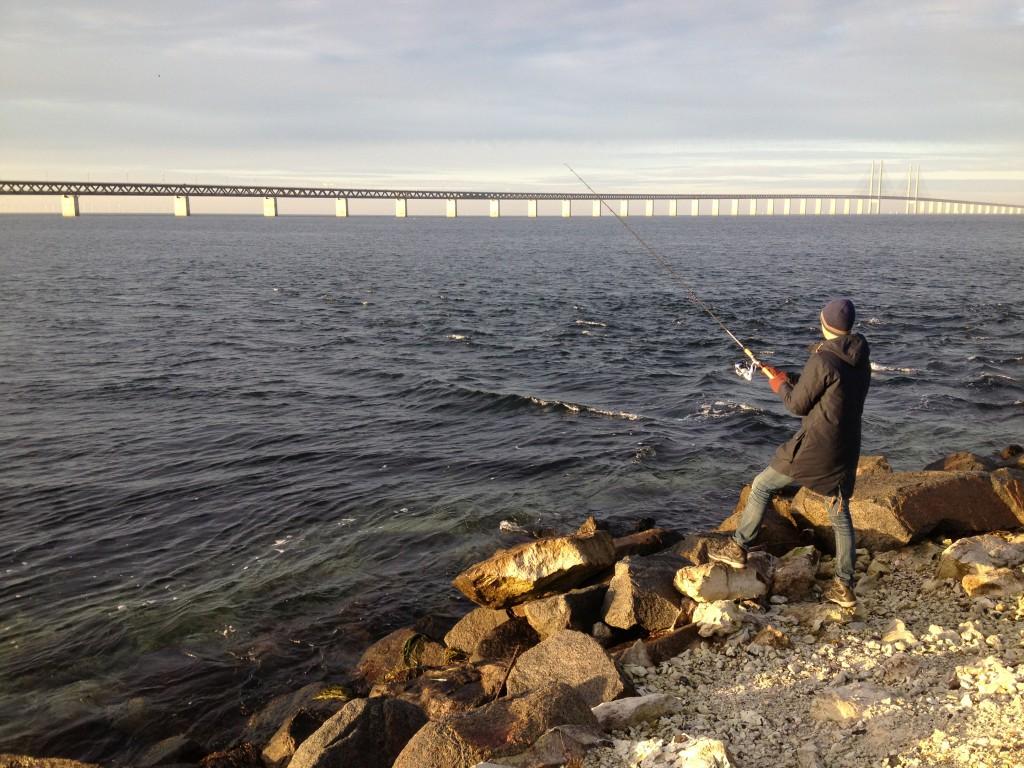 Jag gick och fiskade