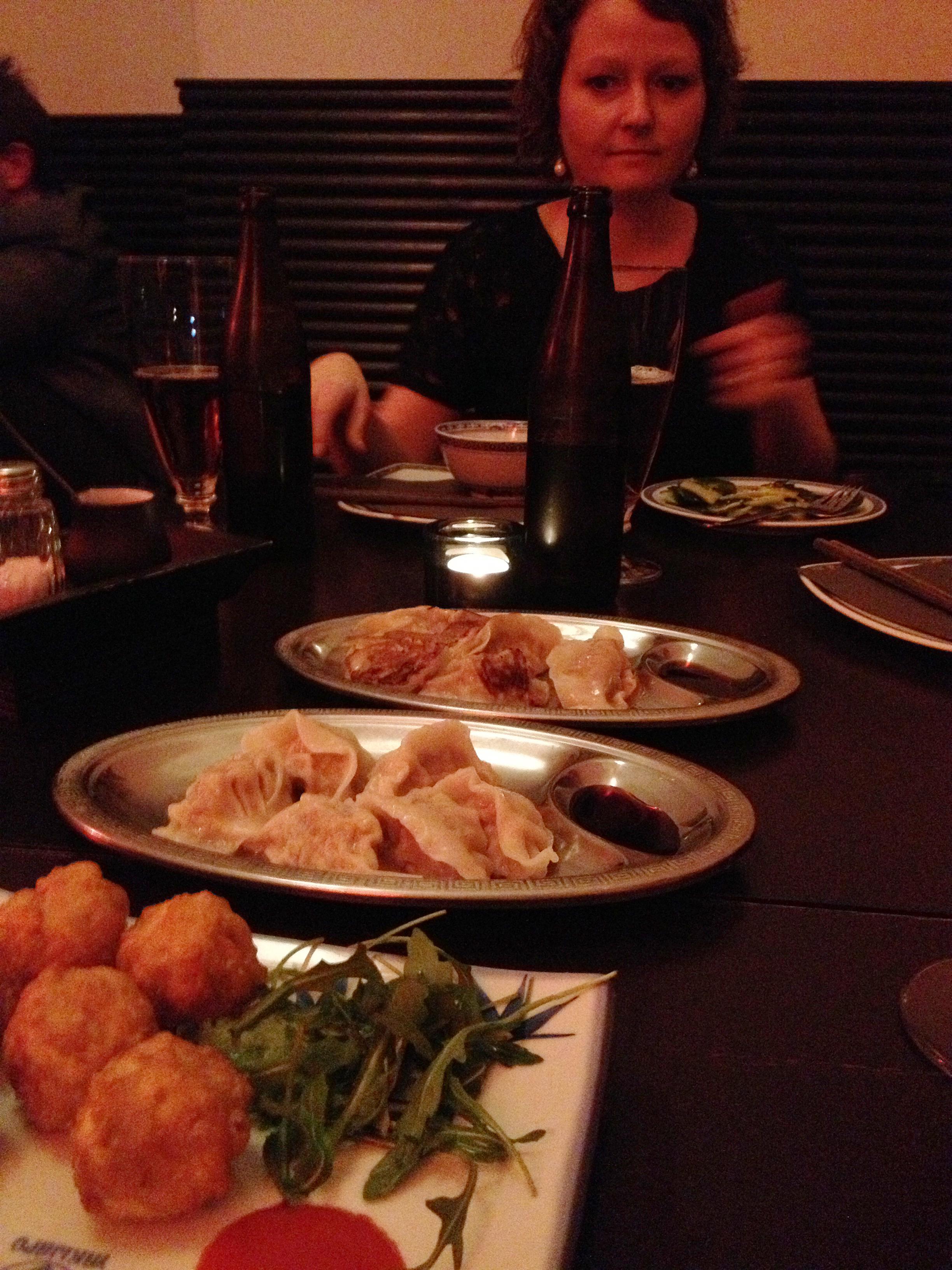 Dumplings i tre former