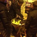 Överallt i barkvarteren i Beyoğlu såldes musslor med citron