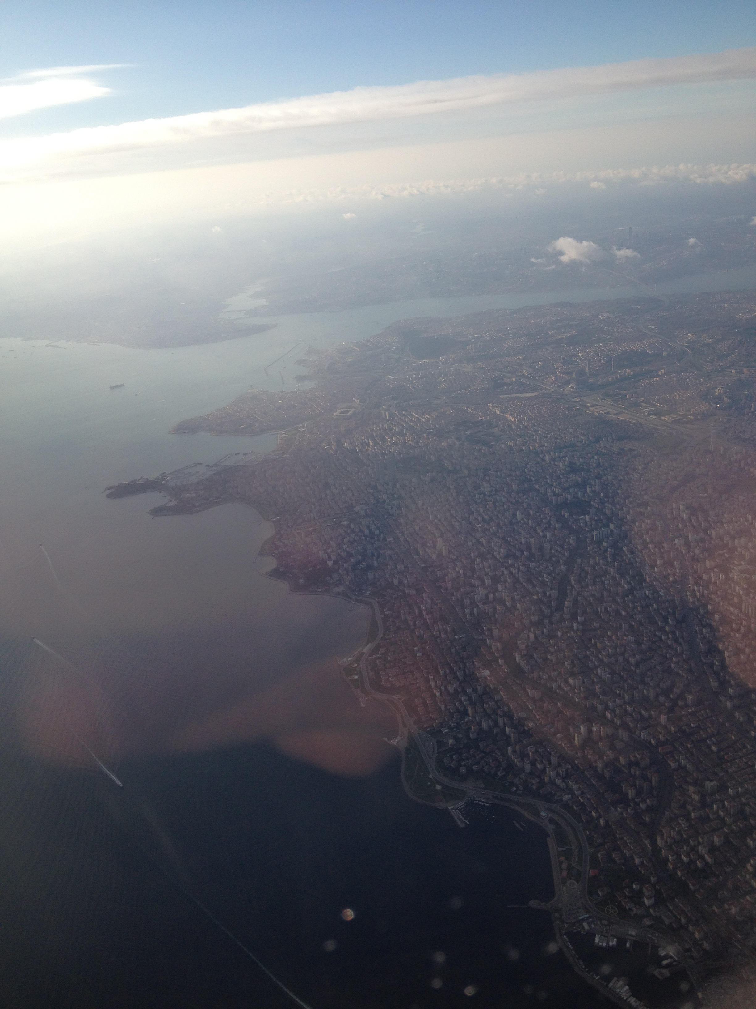Istanbul och Bosporen