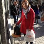 Katten hade tagit den turkiske mannens pall, så han fick stå bredvid. Ni undrade om de hade en hälsosam inställning till katter?